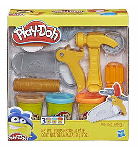 PLAY-DOH - Toolin' Around - 3 Cans - NEW!