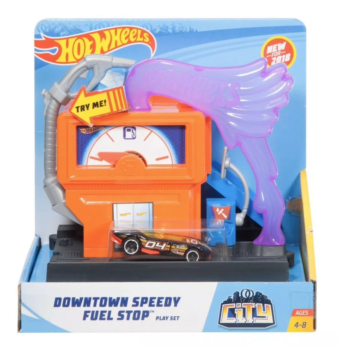 HOT WHEELS - Downtown Speedy Fuel Stop - NEW!