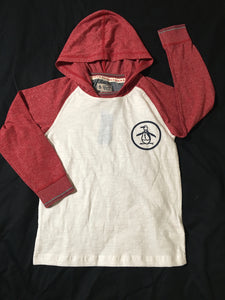 NWT - The Original Penguin - Hoodie Red / White - Boys Size: 6