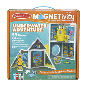 MELISSA & DOUG *NEW Magnetivity Underwater Adventure Building Play Set