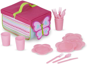 Melissa and Doug Cutie Pie Butterfly Picnic Set NEW