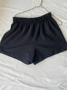 SOFFE Girls Black Active Shorts, Size 10-12