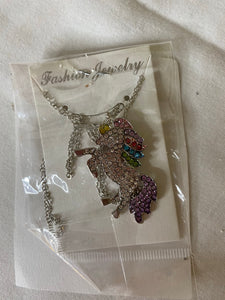 Unicorn Necklace * NEW