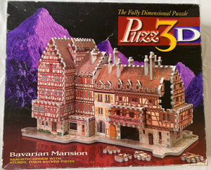 Bavarian Mansion 3D Puzzle 418pc