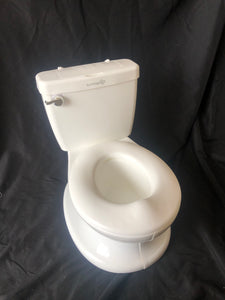 SUMMER.  My Size Potty.  White. Makes flushing sound.