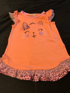 JUMPING BEANS Kitty Nightgown, Size 2T