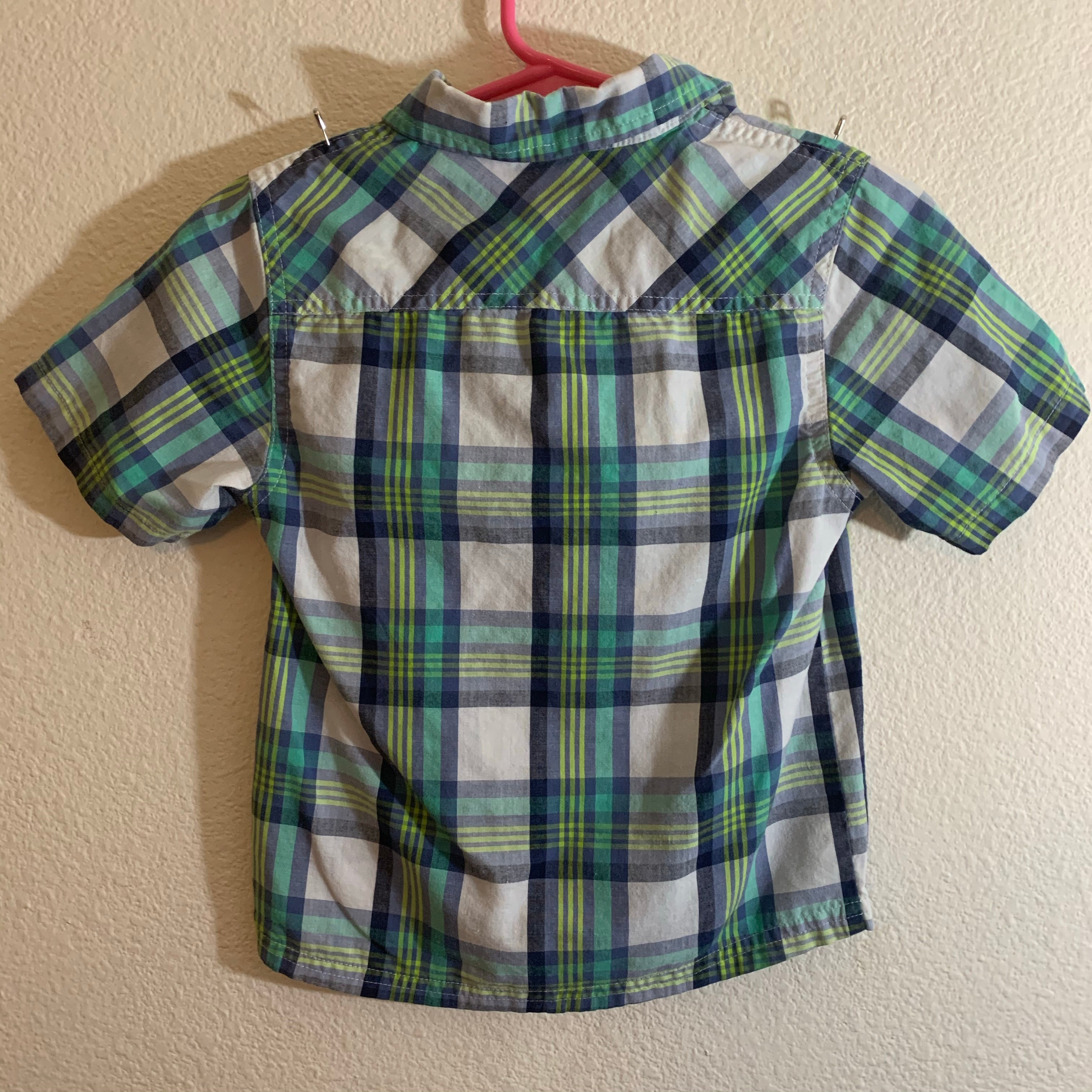 FRENCH TOAST Boy's Size 4T Button Up Short Sleeve