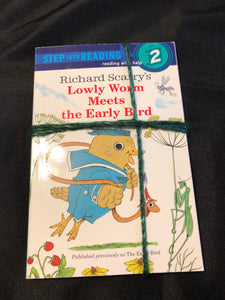 2 level 2 Readers-Come Back, Amelia Bedelia, Richard Scarry's Lowly Worm Meets the Early Bird