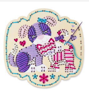MELISSA & DOUG *NEW Stitch By Color - Puppy & Kitten
