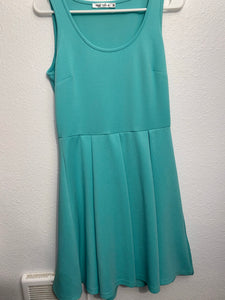 White Mark Teal sleeveless dress;Medium