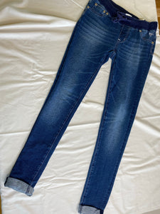 Justice Denim Jeggings Size 10-12
