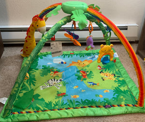 Fisher Price Jungle Baby Gym with Music and Lights