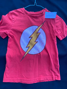 The Flash t shirt; 5T