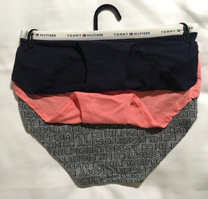 Tommy Hilfiger - Junior Girls Hipster Briefs - 3 Pair Size 6/7 - NEW