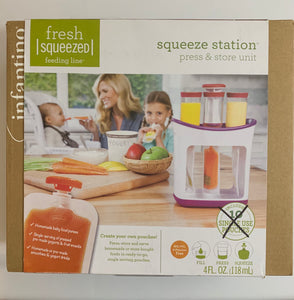 Fresh Squeezed Feeding Line Squeeze Station Press & Store Unit