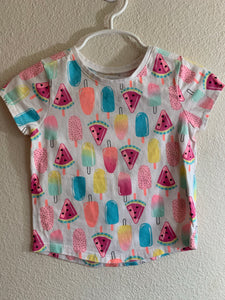 GERANIMALS Girl's Size 3T Short Sleeve Shirt