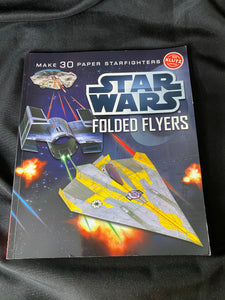 KLUTZ STAR WARS Folded Flyers, makes 30 paper starfighters
