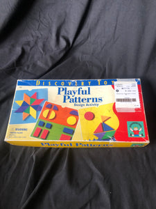 DISCOVERY TOYS.  Playful Patters. Complete Set.