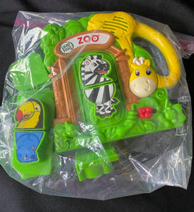 LEAP FROG magnetic fridge zoo. Comes with 4 zoo animals