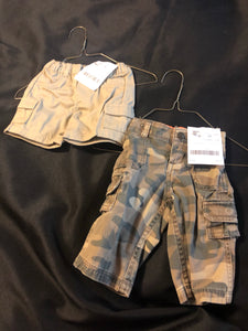 Boys Bottoms, 2 choices, size 3m