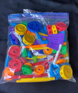TINKERTOYS assorted