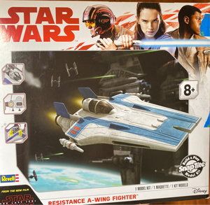 Star Wars  Resistance A-Wing Fighter model kit age 8+ NEW!