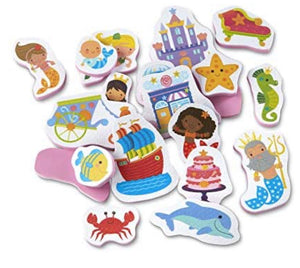 MELISSA & DOUG *NEW Tub Stickables MERMAIDS