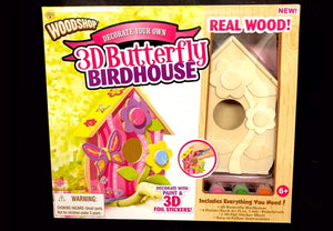 3-D Butterfly Birdhouse Painting Kit - *NEW* - (created updated listing)