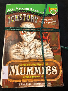 2 Level 3 Readers- Mummies, Dinosaur Days