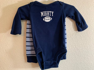 CARTER'S Boy's Size 3 Month 2 Piece Set