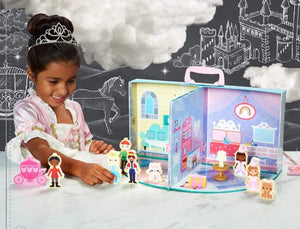 FAO Schwarz -13 Piece Princess Castle Play Set - Age 3+  NEW!