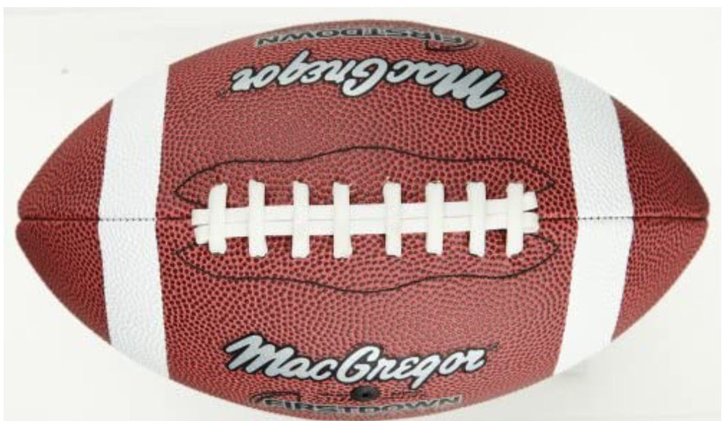 MACGREGOR First Down Football - Official Size - NEW