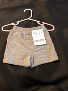 CIRCO Boys grey shorts, size NB
