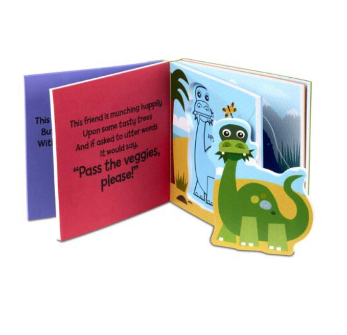 MELISSA & DOUG *NEW Soft Shape Books DINOSAURS