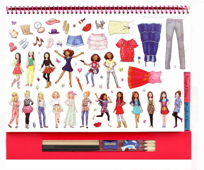 Spicebox Fashion Sensational Style Activity Book - NEW