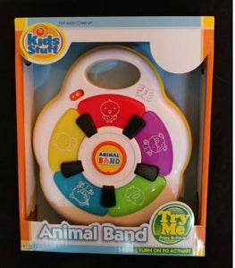 BRAND NEW - Kids Stuff - Animal Band - Animal Sounds & Flashing Lights