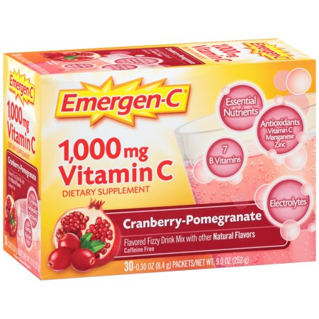 EMERGEN-C CRANBERRY POMEGRANATE  30 pkt