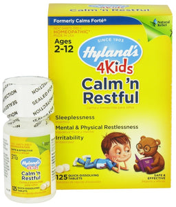 HYLAND CALM & RESTFUL 4 KIDS 125 TABS