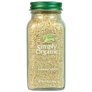 SIMPLY ORGANIC WHOLE SESAME SEED 3.7OZ
