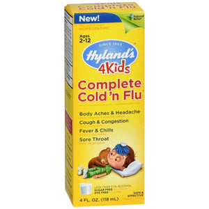 HYLAND 4KIDS COMPLETE COLD'N FLU 4OZ