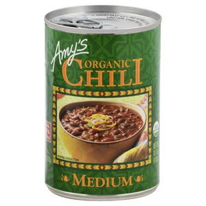 AMY'S ORGANIC MEDIUM CHILI 14.7 OZ