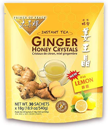 PRINCE OF PEACE GINGER LEMON HONEY CRYSTALS,30ct