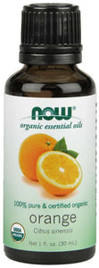 NOW ORGANIC ORANGE OIL 1 fl.oz (30ml)