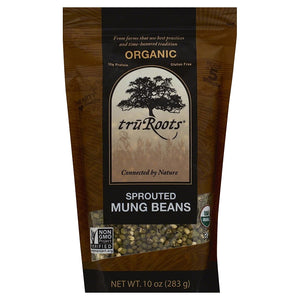 TRU ROOTS ORGANIC SPROUTED MUNG BEANS 10 OZ