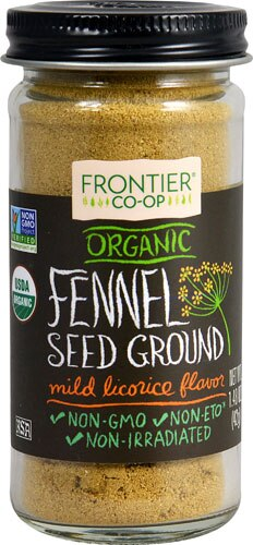 FRONTIER CO-OP GROUND FENNEL SEED 1.60 OZ
