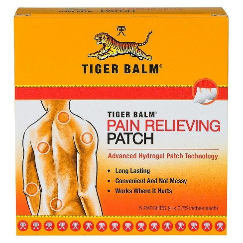 TIGERBALM PAIN RELIEVING PATCH 5CT