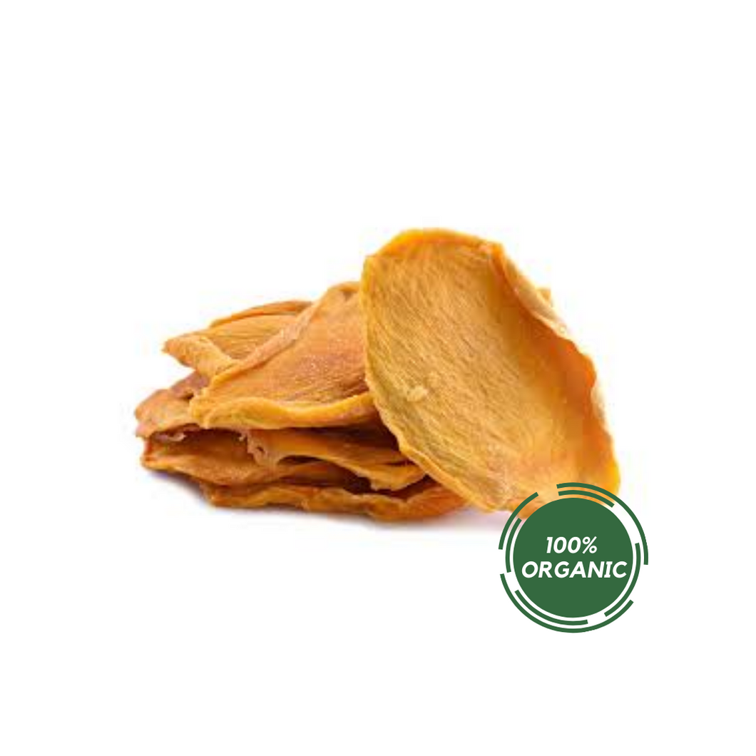 ORGANIC DRIED MANGO 8oz DELI CUPS