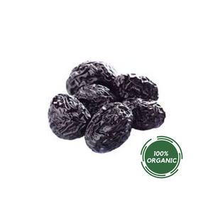 ORGANIC DRIED PITTED PRUNES 8oz DELI CUPS