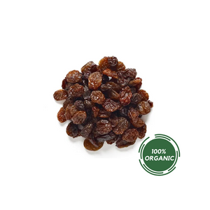 ORGANIC GOLDEN SULTANA RAISINS, 8oz DELI CUPS