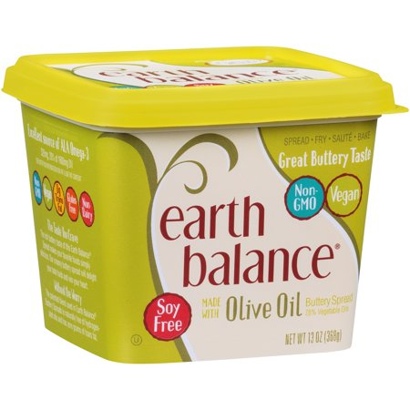 EARTH BALANCE BUTTERY SPREAD, WITH OLIVE OIL 13 OZ